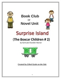 Gifted Book Club or Novel Unit:  Surprise Island (The Boxc