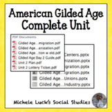 Gilded Age COMPLETE Unit for U.S. History Industrialism Im