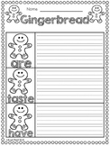 Gingerbread FREEBIES