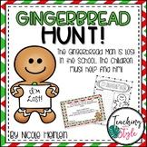 Gingerbread Hunt in the School