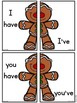 Gingerbread Man Contractions (have) Literacy Center