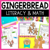 Gingerbread Man Math and Literacy Fun