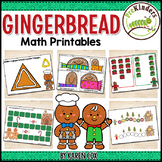 Gingerbread Math Activities Pack