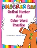 Gingerbread Ordinal Numbers