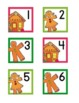 Gingerbread Themed Calendar Numbers