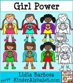 Girl Power- Clip Art for Teachers