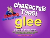 """Glee Character """"Tags"""" Literature Novel Activity"""