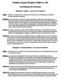 Sample Argumentative Essay On Global Warming