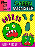"""""""Go Away, Big Green Monster!"""" - Build-A-Monster in COLOR!"""
