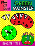 """Go Away, Big Green Monster!"" - Monster Teeth Counting Game"