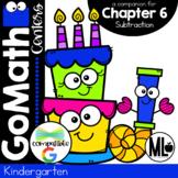 Go Math! Chapter 6 Centers for KINDERGARTEN!