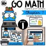 Go Math! Chapter 7 Centers for First Grade