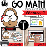Go Math! Chapter 9 Centers for First Grade