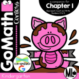 Go Math! Chapter 1 Centers for KINDERGARTEN!