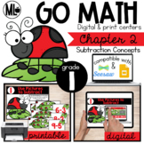 First Grade Math Centers, Subtraction Concepts, Chapter 2