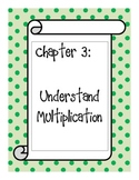 Go Math! Grade 3 Chapter 3 Vocabulary Cards