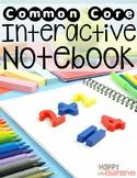 Go Math! Kindergarten Interactive Math Notebook - Interact