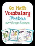 Go Math Vocabulary Posters {2nd Grade Edition}