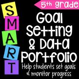 Goal Setting & Data Portfolio {Fifth Grade}
