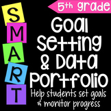 Goal Setting & Data Portfolio {Fifth Grade}