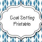 {FREE} Goal Setting Sheet
