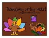 Gobble Gobble Good Thanksgiving Writing Packet