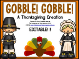 Gobble Gobble!  A Math & Literacy Thanksgiving Pack!