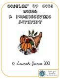 Gobblin' Up Good Words: A Thanksgiving Descriptive Words B