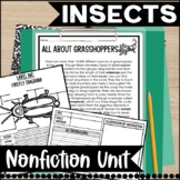 Going Buggy over Insects unit- Common Core Aligned
