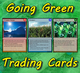Going Green Trading Cards