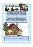 Goldilocks and the Three Bears Literacy and Math Centers