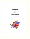Goldilocks and the Three Bears Unit for Young Children