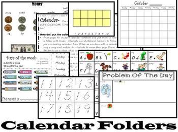 Goodbye Boring Calendar Routine...Hello Kindergarten Calen