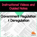 Government Regulation and Deregulation Instructional Video
