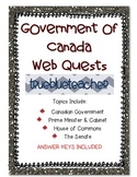 Government of Canada Web Quests