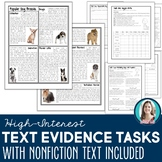 Gr 4-6 Nonfiction Article & Tasks for Finding & Using Text