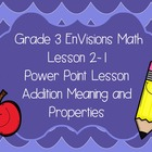 Grade 3 EnVisions CCSS based Lesson 2-1 Power Point