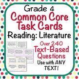Reading: Literature Task Cards - Grade 4