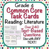Text-Based Questions for ANY TEXT - Common Core Task Cards