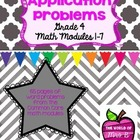 Grade 4 Math Module Application Problems - All modules