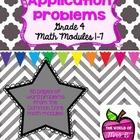 Grade 4 Math Module Application Problems - All modules