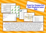 Grade Four Common Core Lesson Pack