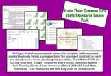 Grade Three Common Core Lesson Pack