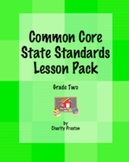 Grade Two Common Core Lesson Pack