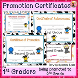 Graduation Certificates - 1st Grade
