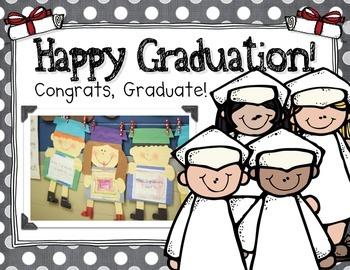 Graduation Kid Craft~Fun Writing, Labeling, & More