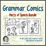 Grammar Comics!: Parts of Speech Bundle