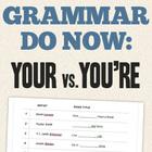 "Grammar Do Now - Use Popular Songs to Teach Homophones: ""Y"