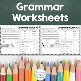 Easy Grammar Practice Worksheets