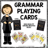 Grammar Playing Cards: Verbs and Hyphenated Modifiers